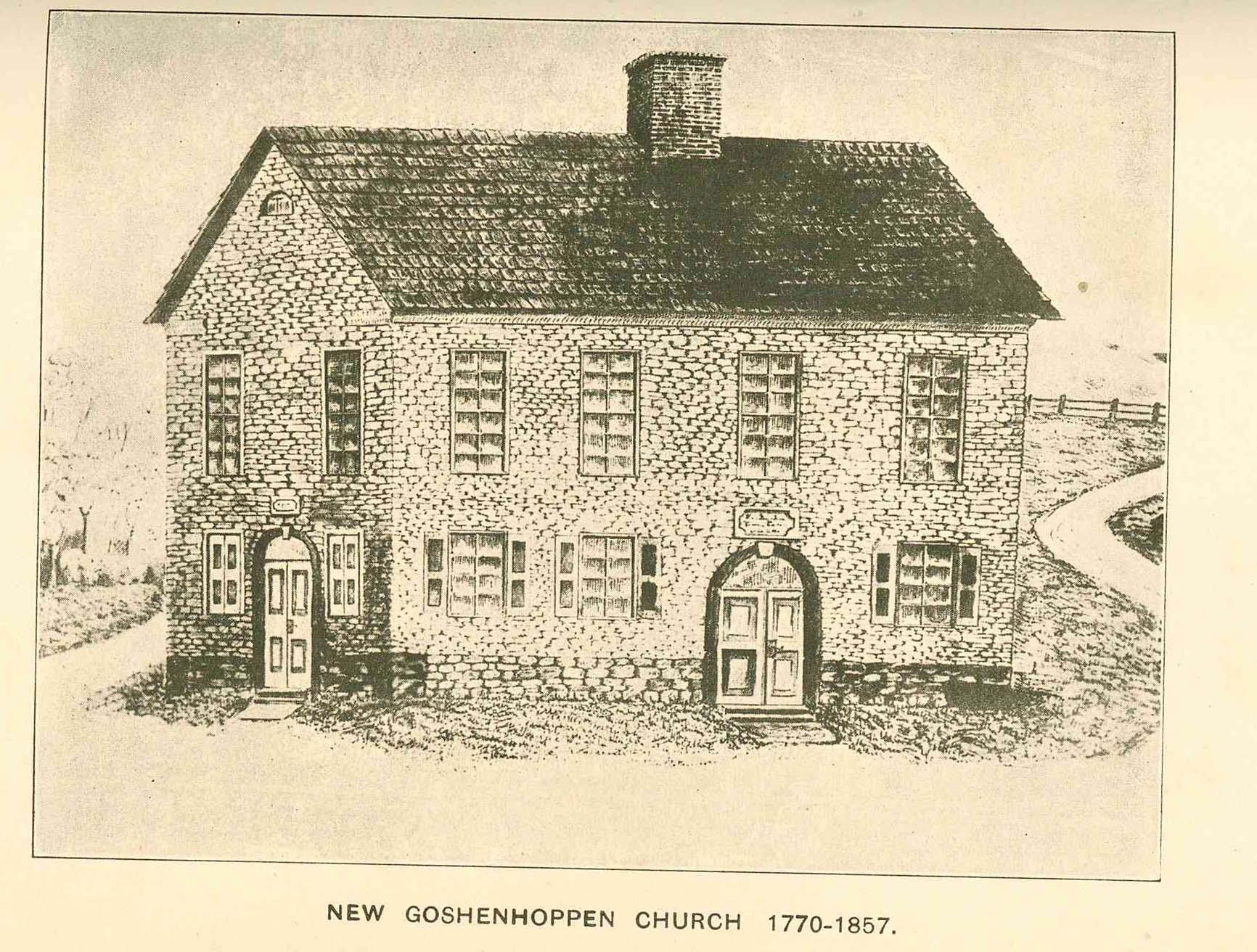 New Goshenhoppen - Historical Society of Montgomery County, PA